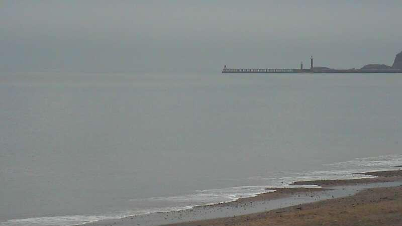 Webcam image from Whitby
