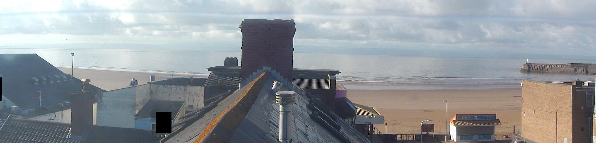 Latest webcam still for Porthcawl - Coney Beach