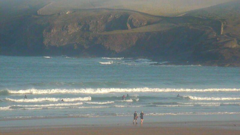 Webcam image from Polzeath