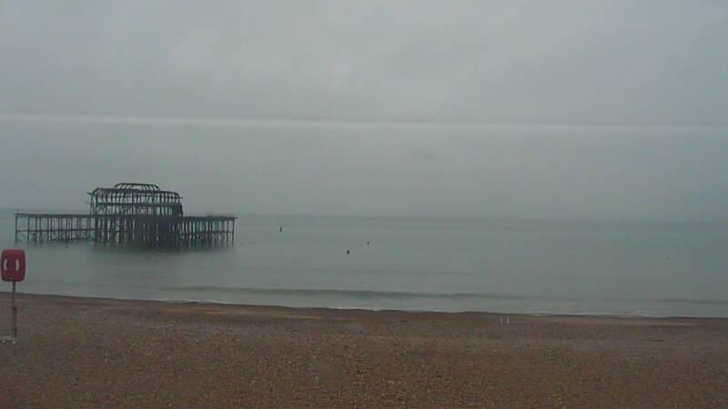 Webcam image from Brighton - West Pier