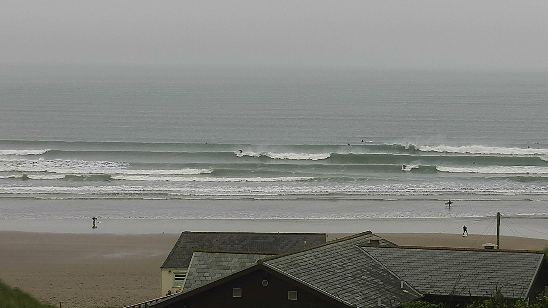 Webcam image from Saunton Sands