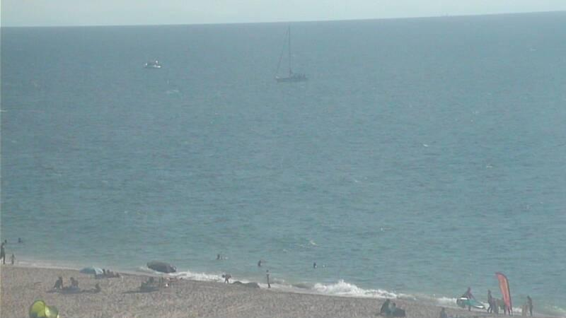 Webcam image from Hossegor (La Graviere)
