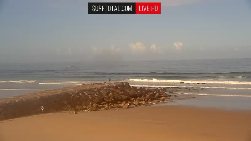 Webcam image from Costa da Caparica