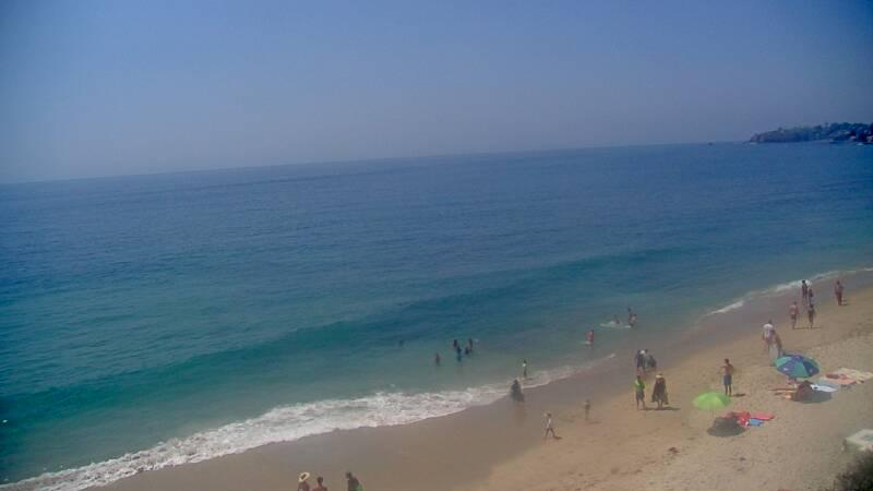 Webcam image from Laguna Beach (Thalia Street)