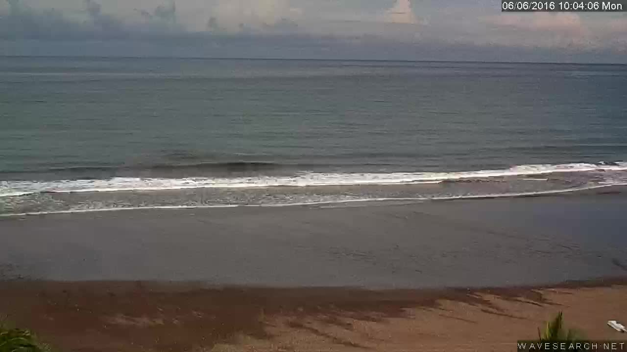 Webcam image from Playa Jaco